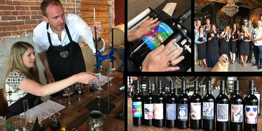 Winemaker For A Day - Create your own custom labeled bottle of wine $99++