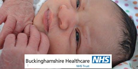 AMERSHAM set of 3 Antenatal Classes OCTOBER 2019 Buckinghamshire Healthcare NHS Trust tickets