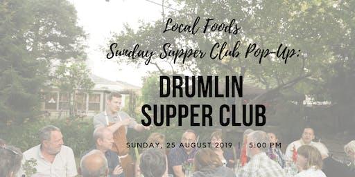 Local Foods Sunday Supper Club Pop-Up:  Drumlin Supper Club