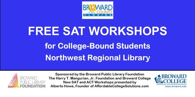 WAITING LIST FOR Free SAT Workshops @ Northwest Regional Library
