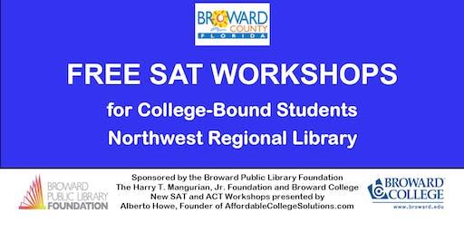 WAITING LIST FOR Free SAT Workshops @ Northwest Regional Library