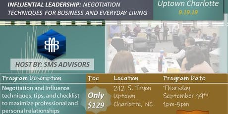 Negotiations Workshop for Small Business Leaders tickets