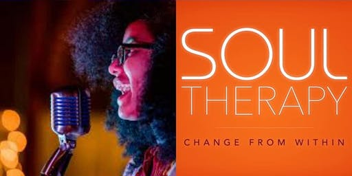 """Soul Therapy"" Soul Music and Poetry Night Out"