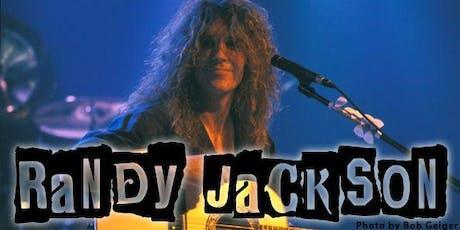 Randy Jackson of Zebra Solo Acoustic Show tickets