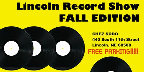 Lincoln Record Show - Fall Edition! tickets