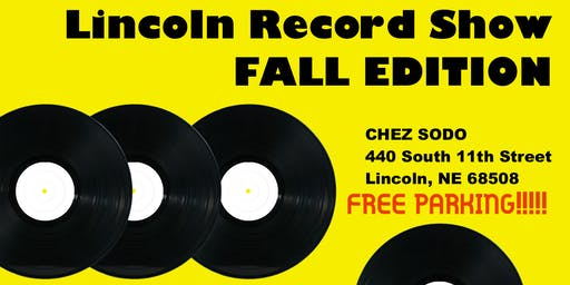 Lincoln Record Show - Fall Edition!