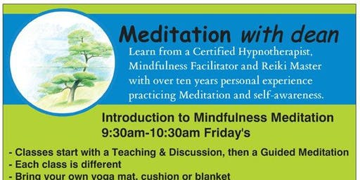 Introduction to Mindfulness Meditation