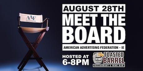Meet the Board - AAF IE tickets