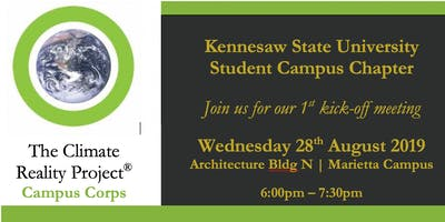 The KSU Project Reality Campus Corps' Sustainability Meeting-of-the-Minds