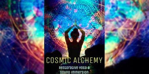 Cosmic Alchemy-Restorative Yoga & Sound Immersion