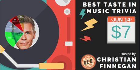 "Christian Finnegan's ""World's 2nd Best Taste in Music"" Trivia Contest tickets"