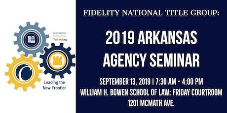 FNTG 2019 Arkansas Agency Seminar tickets