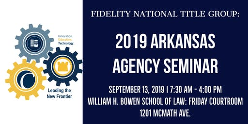 FNTG 2019 Arkansas Agency Seminar