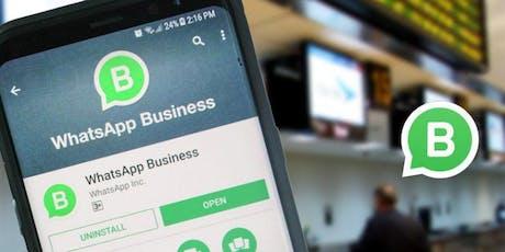 Curso ¿Como Captar clientes y vender por WhatsApp Business? - Teórico entradas