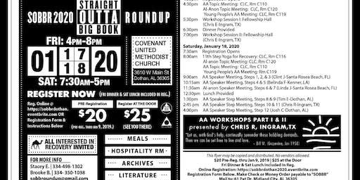 Straight Outta Big Book Roundup 2020- SOBBR