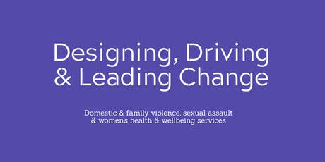 Designing, Driving & Leading Change tickets