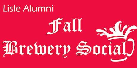 2019 Lisle Alumni Fall Brewery Social  tickets