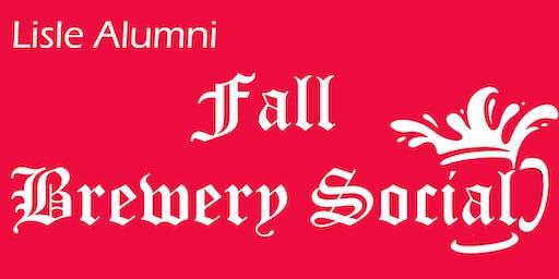 2019 Lisle Alumni Fall Brewery Social
