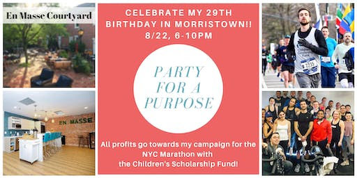 Party For A Purpose!