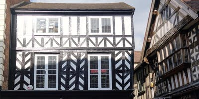 A Tour of the Medieval Heart of Shrewsbury by Historian John Brown and Guide Bibbs Cameron