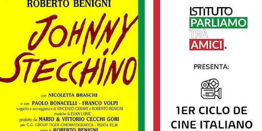 """1er Ciclo de Cine Italiano - """"Johnny Stecchino"""" /Roberto Benigni"""