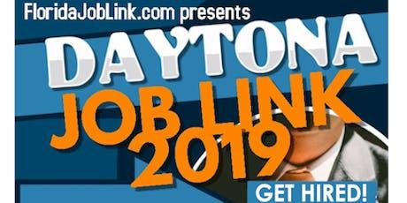 DAYTONA JOB LINK JOB FAIR AUGUST 20 / EAST COAST - FLORIDA JOBLINK FLORIDA JOB FAIR tickets