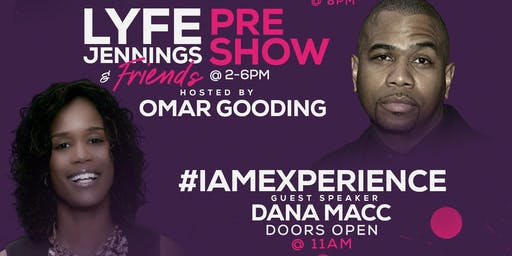 Lyfe Jennings and Friends Pre-Show Concert Hosted By Omar Gooding