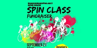 Hand&HandProject Give Back Spin Class Fundraiser