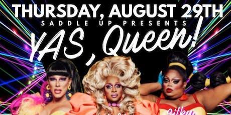 YAS, Queen tickets