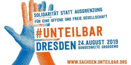 #unteilbar demonstration against racism tickets