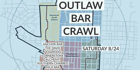 DOWNTOWN RALEIGH OUTLAW BAR CRAWL tickets