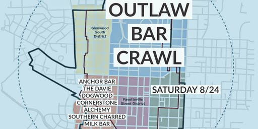 DOWNTOWN RALEIGH OUTLAW BAR CRAWL