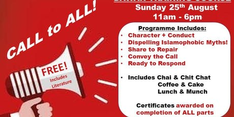 Dawah Training Course  tickets