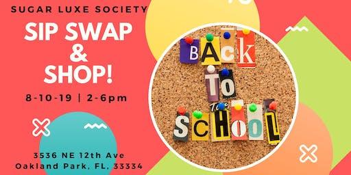 Sip, Swap & Shop Event Series
