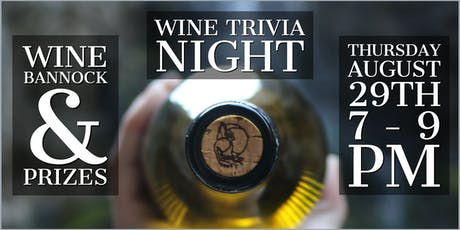 Wine Trivia Night tickets
