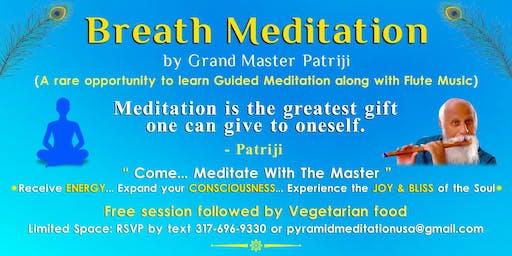Aug 23rd Breath Meditation by Grand Master Patriji