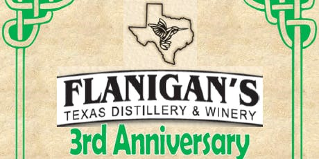 Flanigan's 3rd Anniversary Celebration tickets