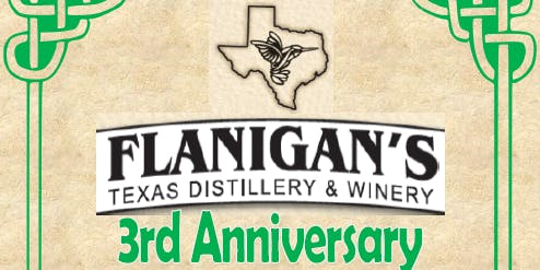 Flanigan's 3rd Anniversary Celebration