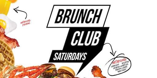 BRUNCH CLUB SATURDAYS