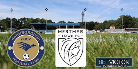 Farnborough vs Merthyr Town tickets