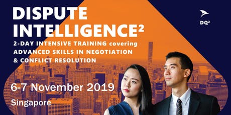 Advanced Negotiation & Conflict Resolution Skills: Singapore (1-2 November 2019) - Shortlist Only tickets