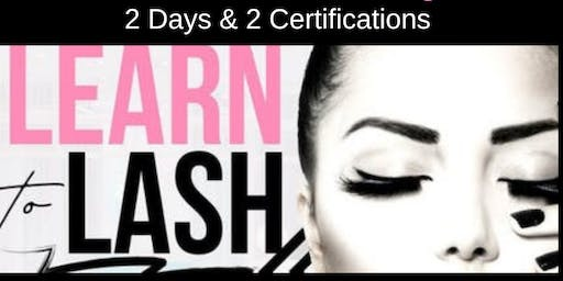 SEPTEMBER 26-27 TWO-DAY CLASSIC & VOLUME LASH EXTENSION CERTIFICATION TRAINING