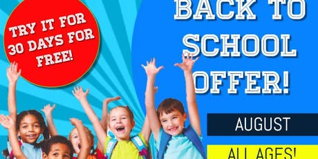 FREE 30 DAY MARTIAL ARTS CLASSES FOR CHILDREN tickets