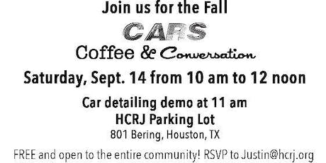 Cars, Coffee & Conversation tickets