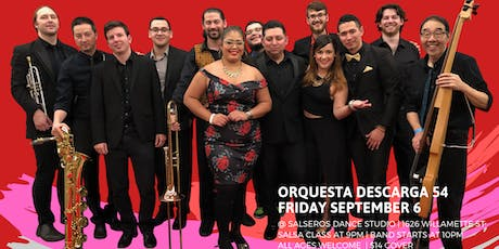 Live Salsa special Event with Orq. Descarga 54 tickets