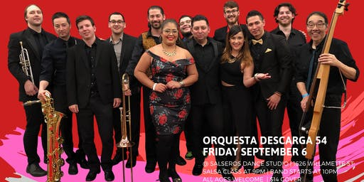 Live Salsa special Event with Orq. Descarga 54