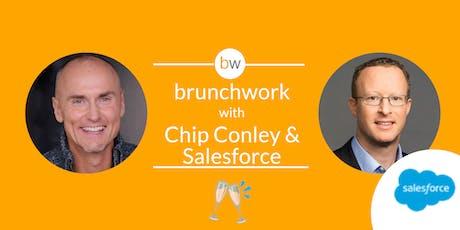 Salesforce & Chip Conley (Airbnb, Joie de Vivre Hotels) brunchwork tickets