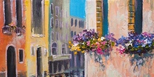 Venice Paint & Sip @ G Street Bar & Grill
