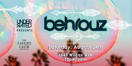 Behrouz • All Night Long • Do Not Sit On The Furniture tickets
