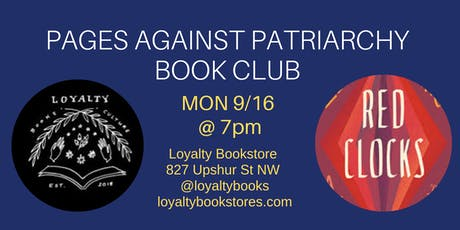 Book Club: Pages Against Patriarchy Discusses Red Clocks tickets